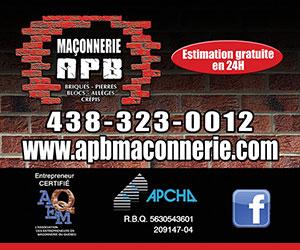 Maconnerie APB